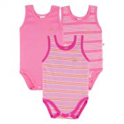 Kit Body Regata Best Club 3 peças Pink