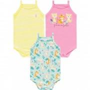 Kit Body Regata Tigre Amarelo Kiko Baby