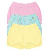 Kit Shorts Kiko Baby Praia Amarelo