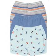 Kit Shorts Kiko Baby Praia Azul