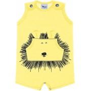 Macacão Bebê Leão Trick Nick Amarelo
