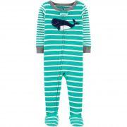 Macacão Carter's Pijama Whale