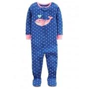 Macacão Pijama Carters Baleia