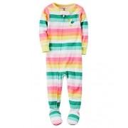 Macacão Pijama Carters Brincar e Dormir Listradinho