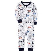 Macacão Pijama Carters Star Azul