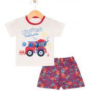 Pijama Caminhão Creme TileeSul