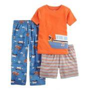 Pijama Carter's 3 Peças Barco