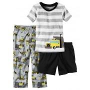 Pijama Carter's 3 Peças Trator