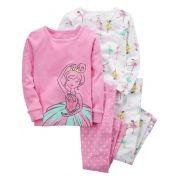 Pijama Carter's 4 Peças Bailarina