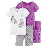 Pijama Carter's 4 peças Patins