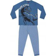 Pijama Dino Azul Kiko e Kika