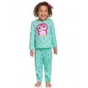Pijama Kyly Brilha no Escuro Corujinha