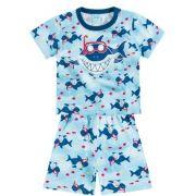 Pijama Kyly Brilha no Escuro Tubarão