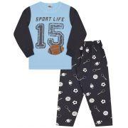 Pijama Sport  Life Creme Bicho Bagunça