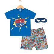 Pijama Super Boy Azul TileeSul