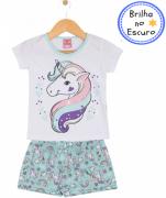 Pijama Unicórnio Água TileeSul