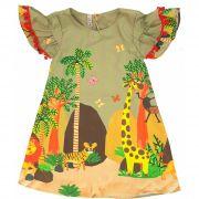 Vestido Estampado África