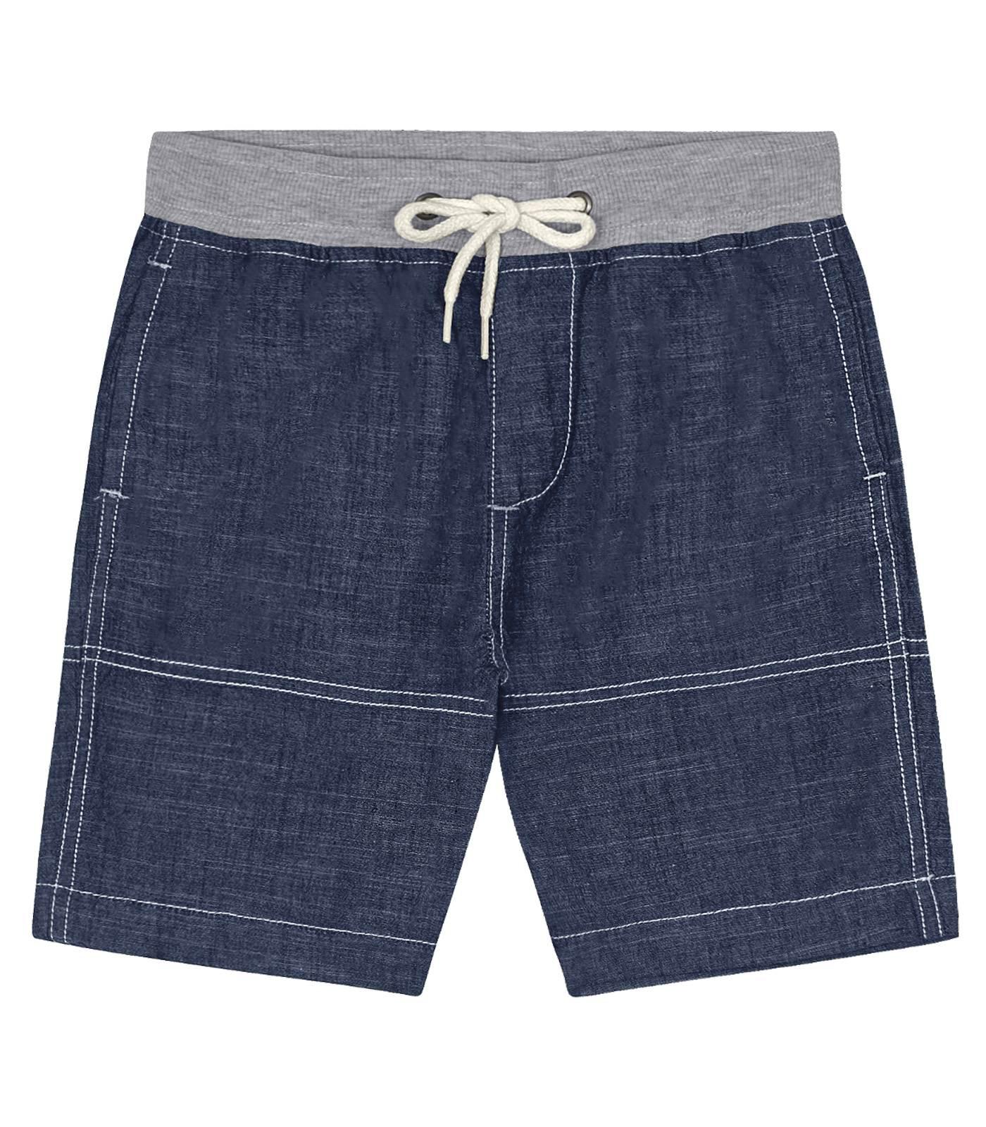 Bermuda Chambrey Trick Nick Jeans