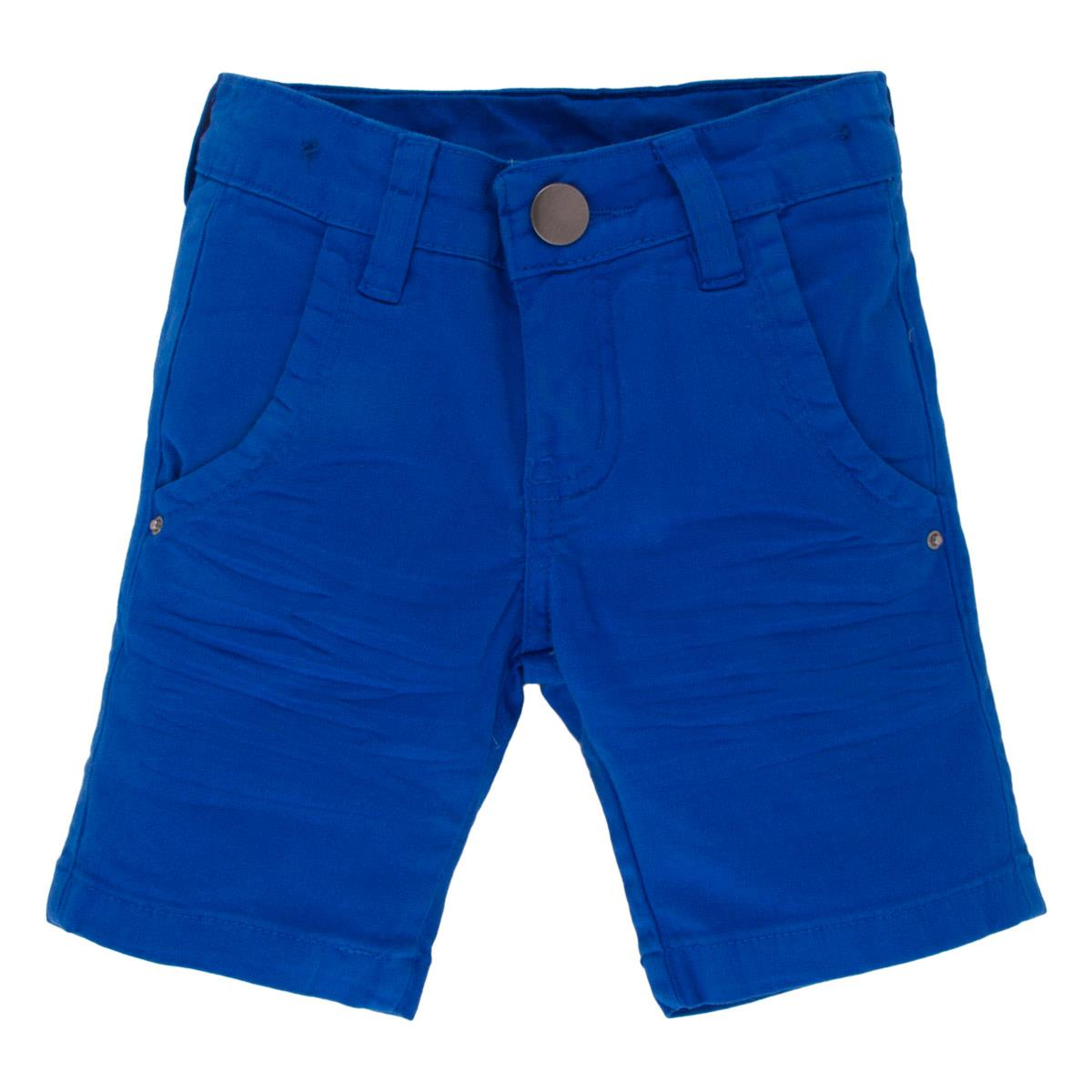 Bermuda Color Gijo Kids Azul