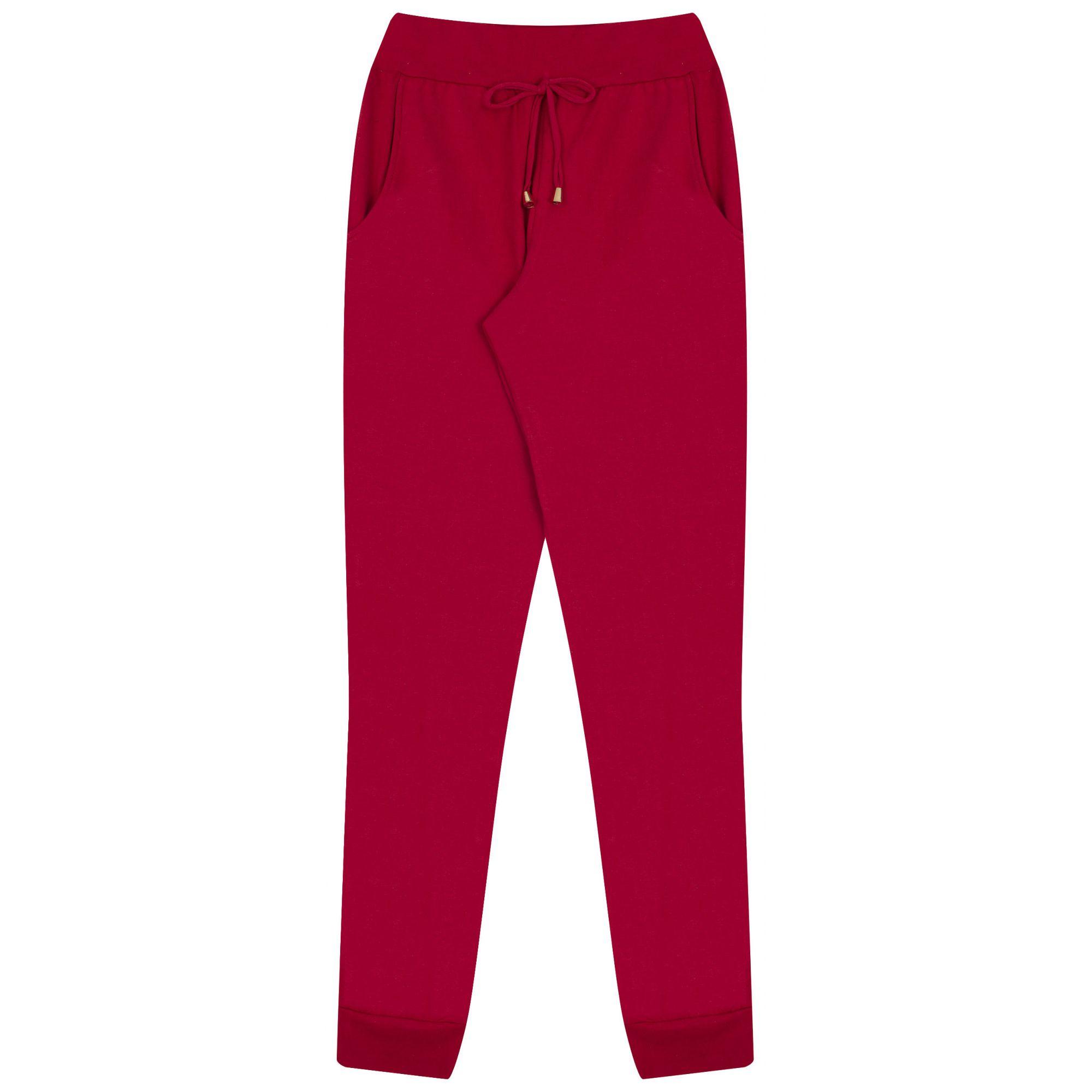 Calça Confort Vermelha Bicho Bagunça