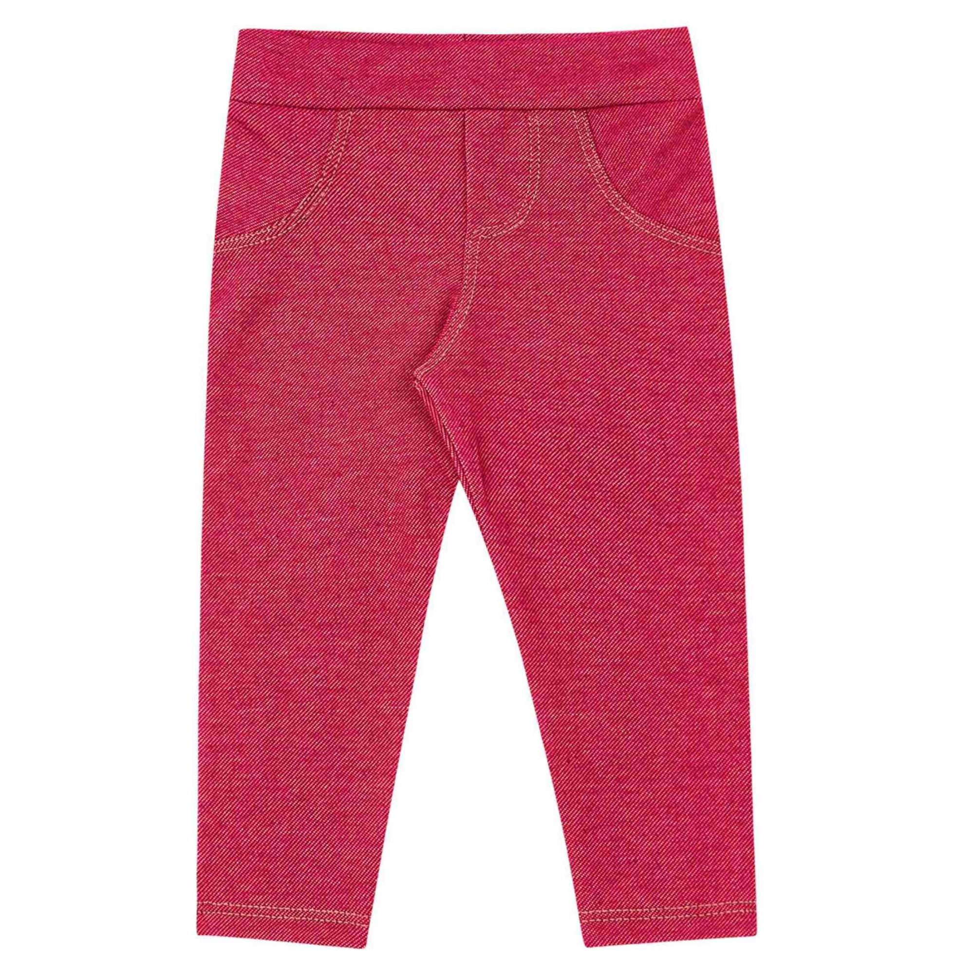 Calça de Molecotton Jeans KIKO e KIKA Pink