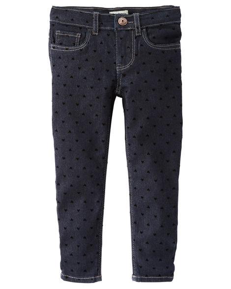 Calca Jeans Oshkosh Skinny Coração