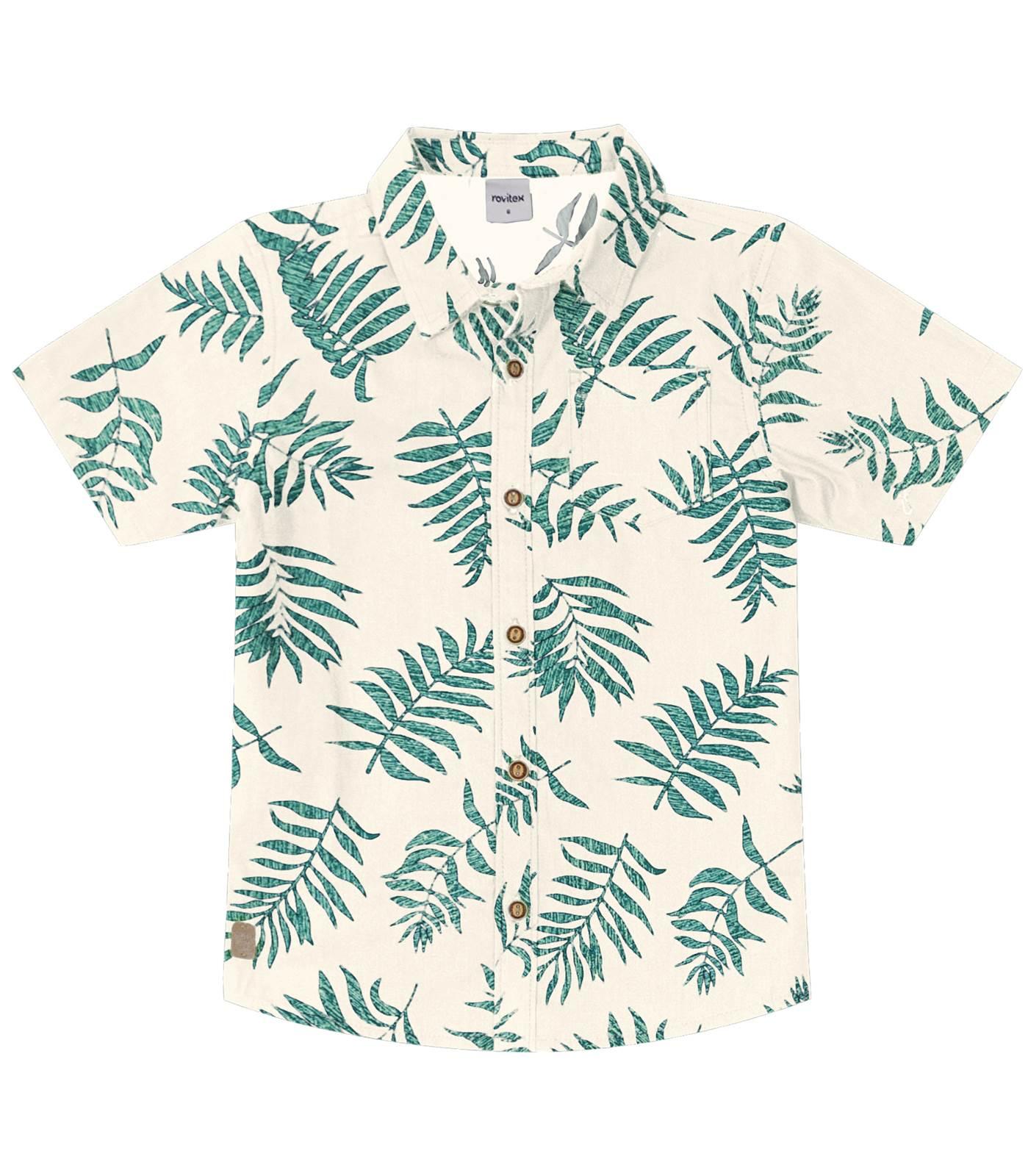 Camisa Tropical Rovitex Kids
