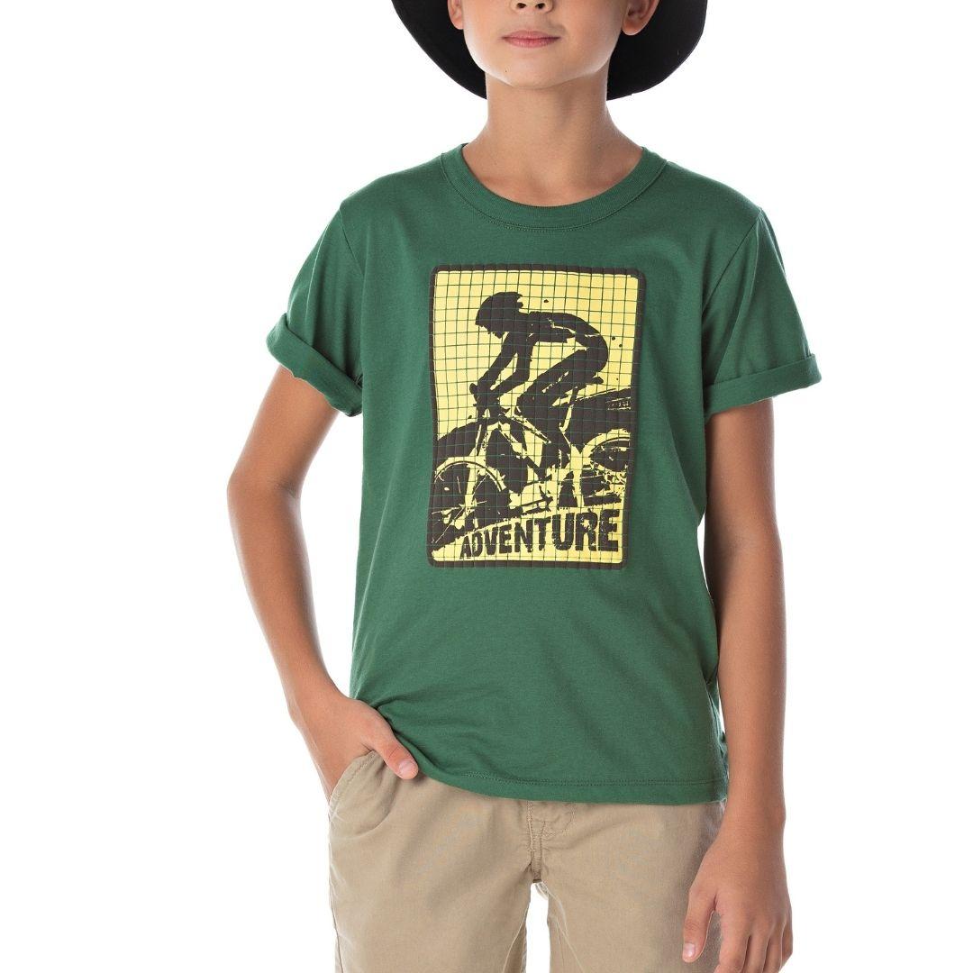 Camiseta Bike Adventure Bicho Bagunça