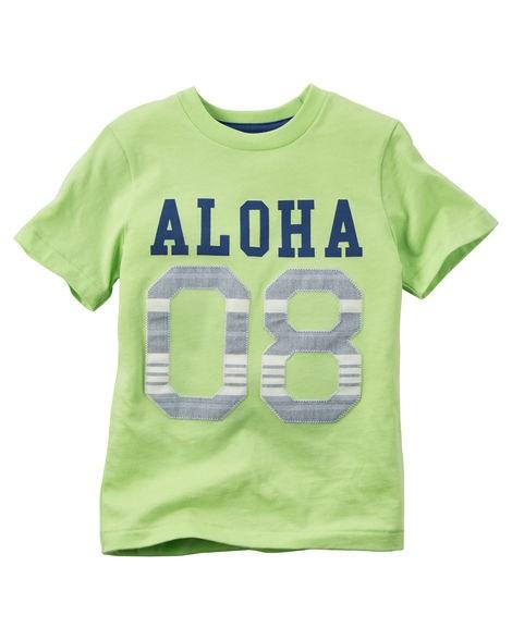 Camiseta Carters Aloha