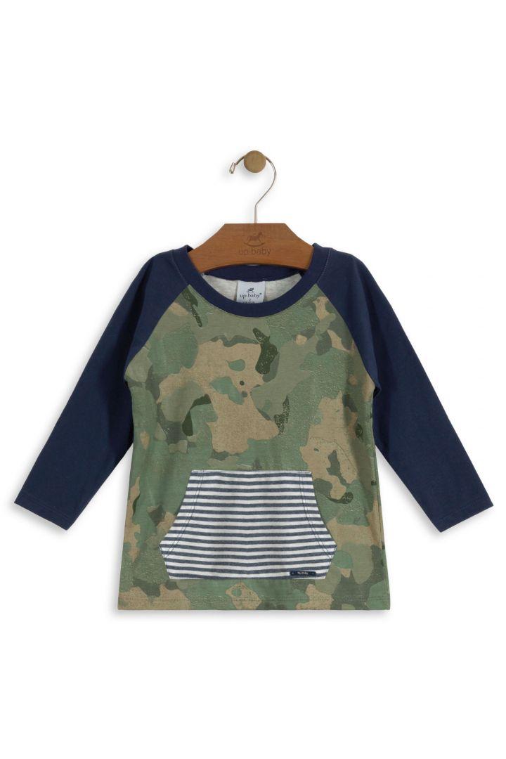 Camiseta Menino Camuflagem