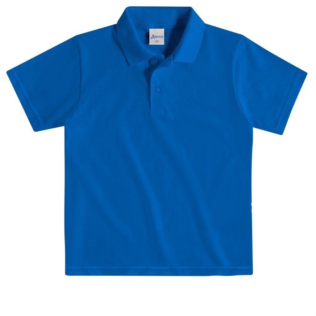Camiseta Pólo Azul Alenice