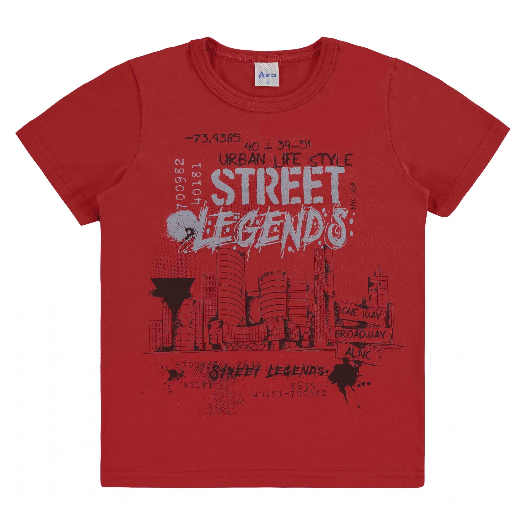 Camiseta Street Legends Alenice