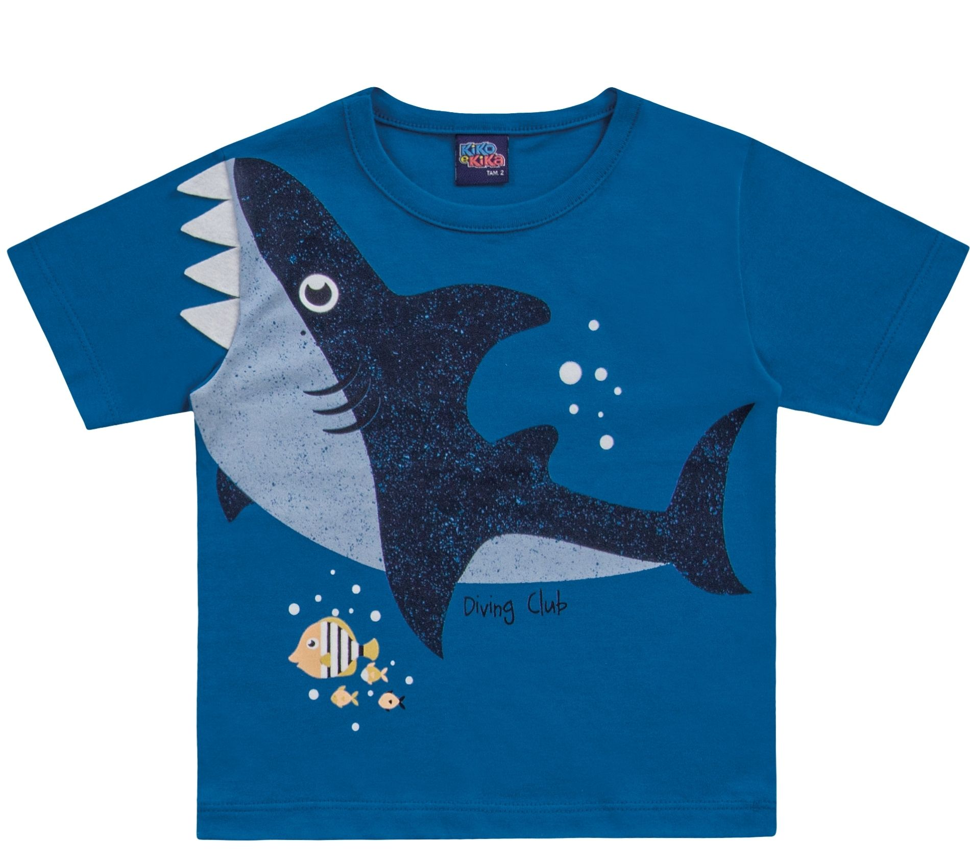 Camiseta Tubarão Azul Kiko