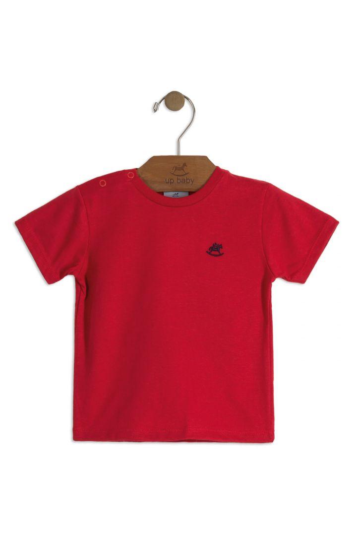Camiseta Vermelha Up Baby
