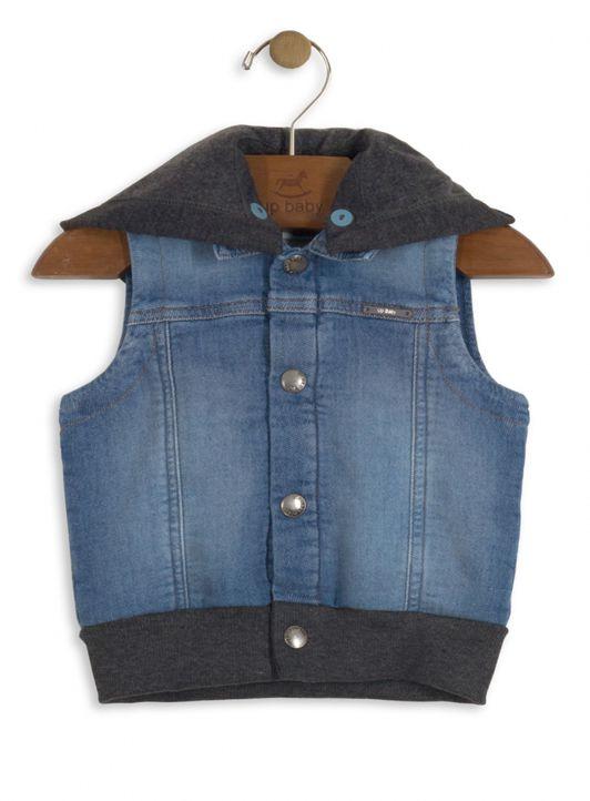 Colete Infantil Menino Jeans Up Baby