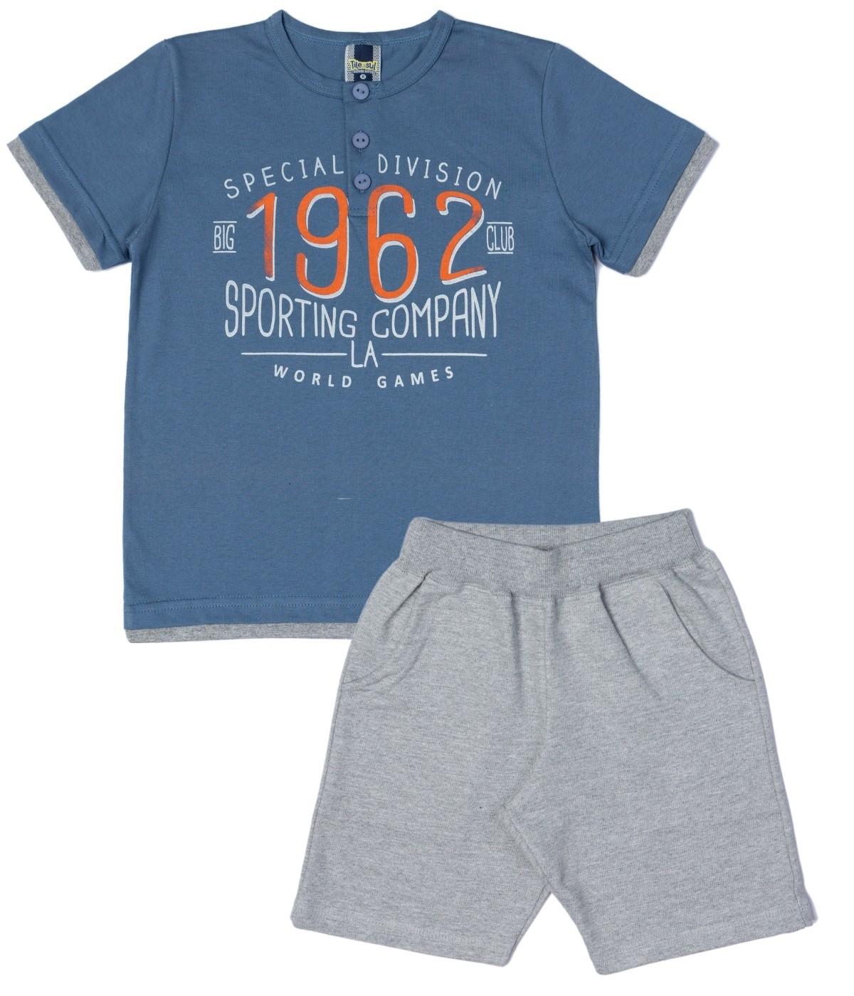 Conjunto 1962 Menino TileeSul Azul