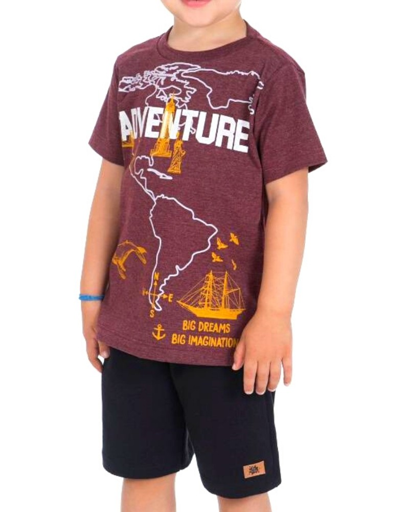 Conjunto Adventure Be Kids Menino