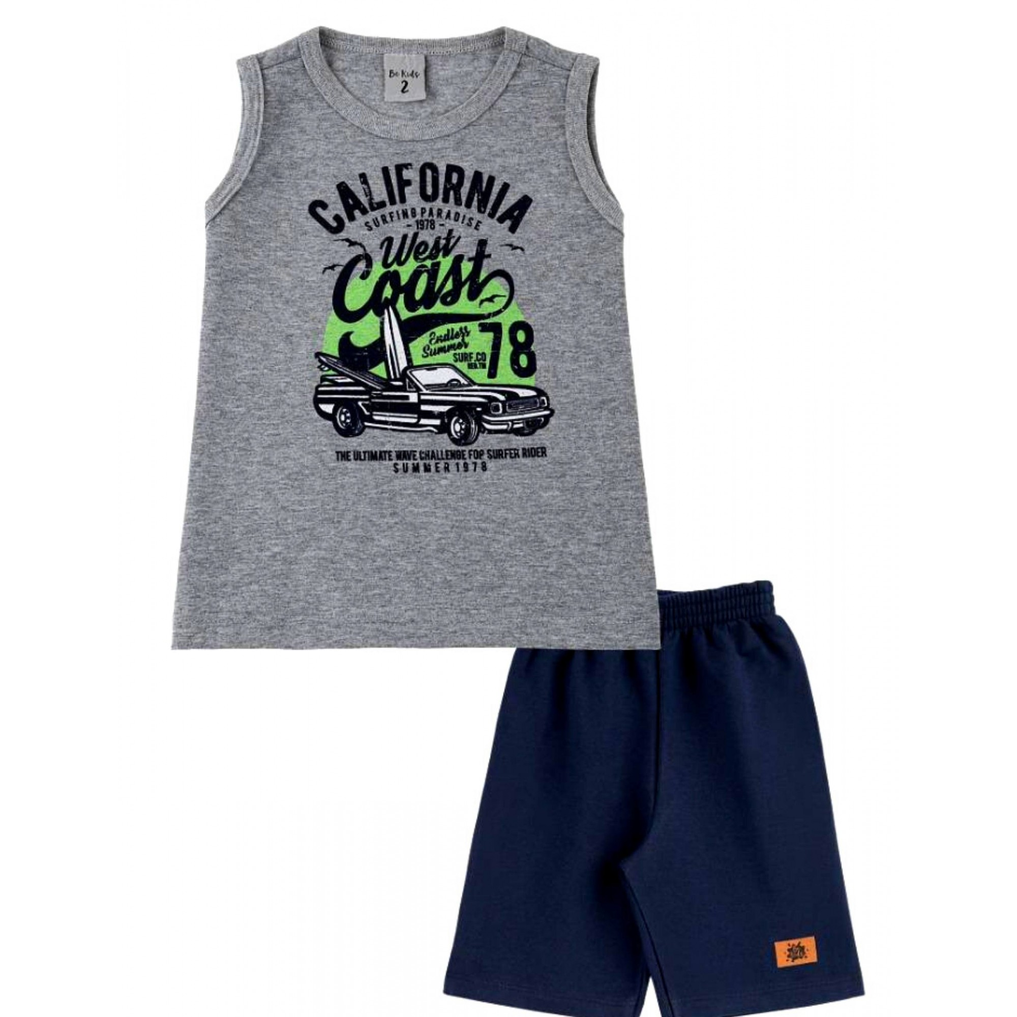 Conjunto California Surfing Be Kids Menino