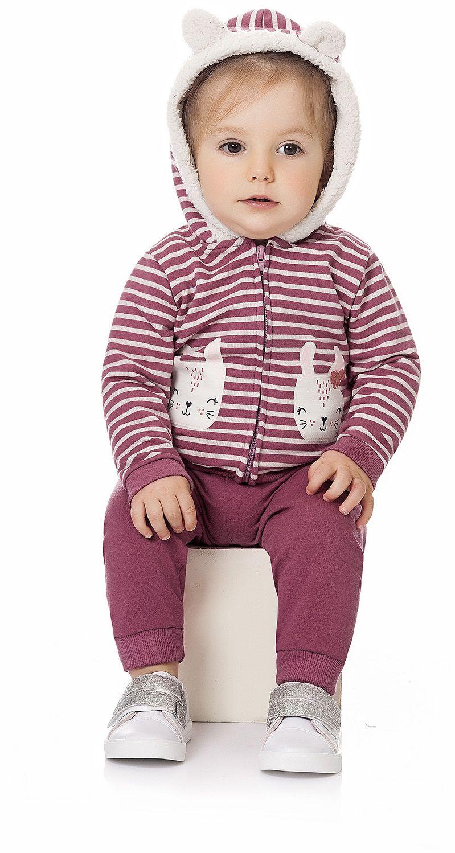 Conjunto Capuz Coelhinhos Kiko Baby