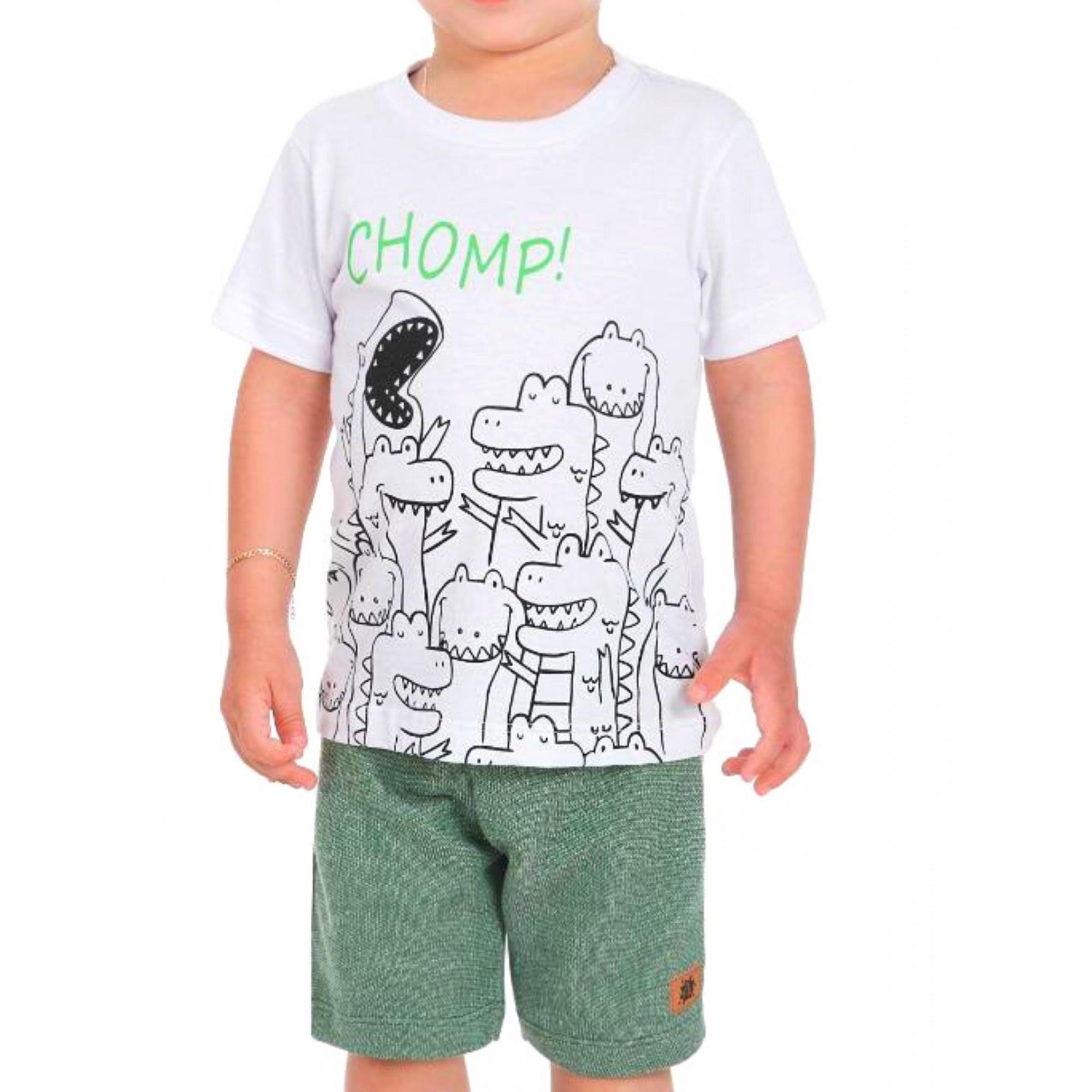 Conjunto Chomp! Be Kids Menino