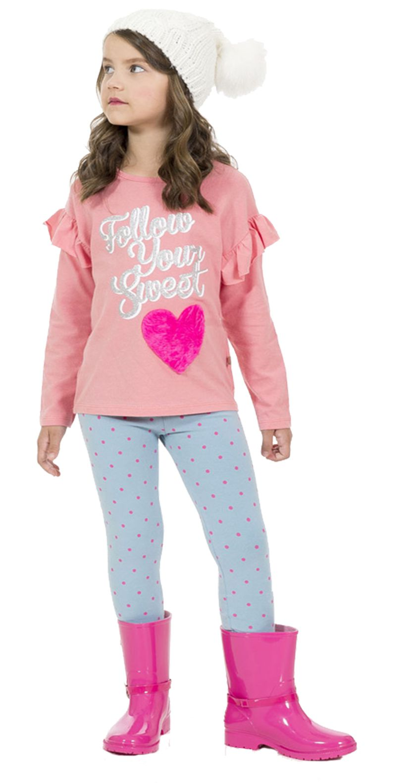 Conjunto Coração Pink Tinkbink