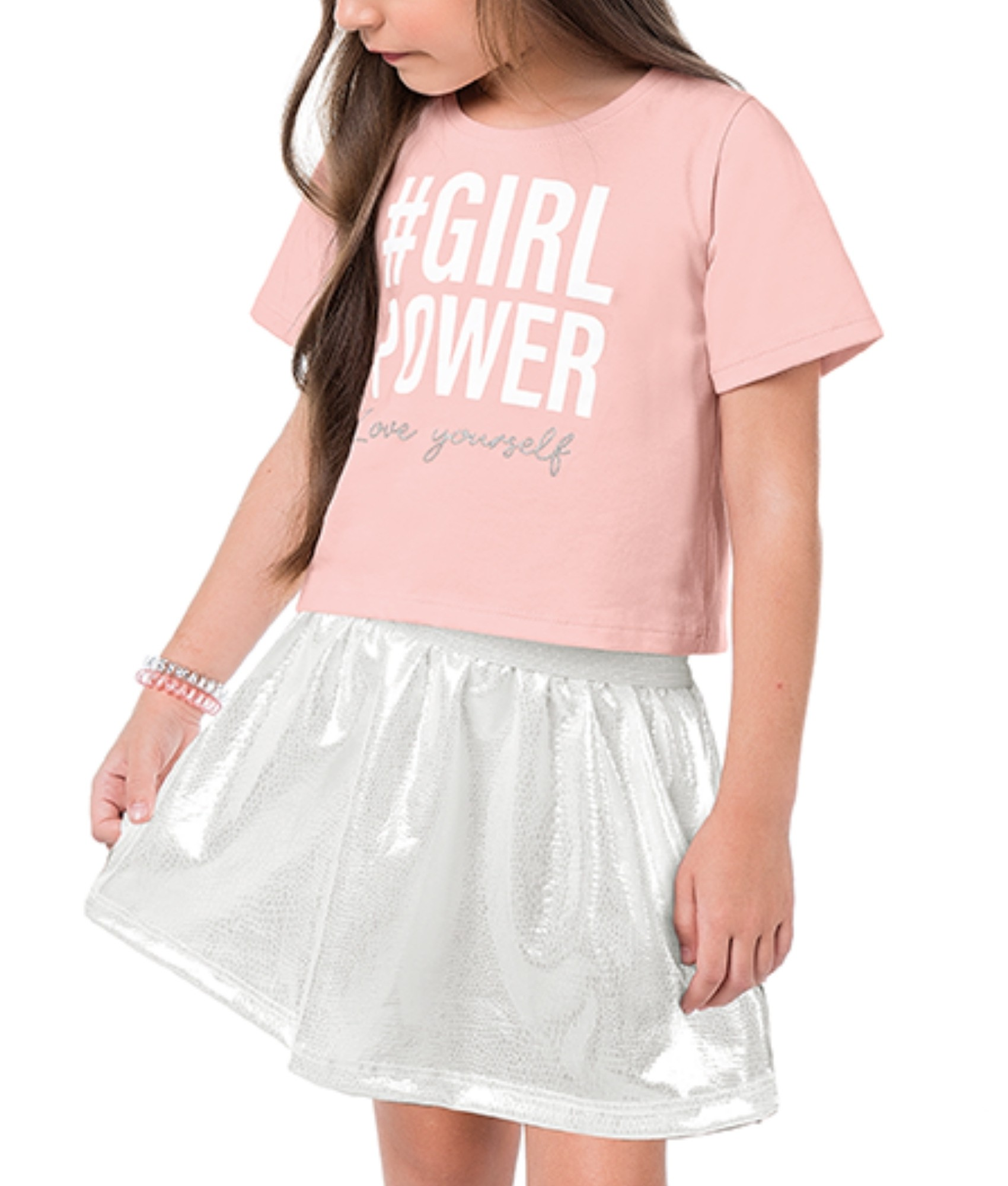 Conjunto Girl Power Rosa Kiko e Kika