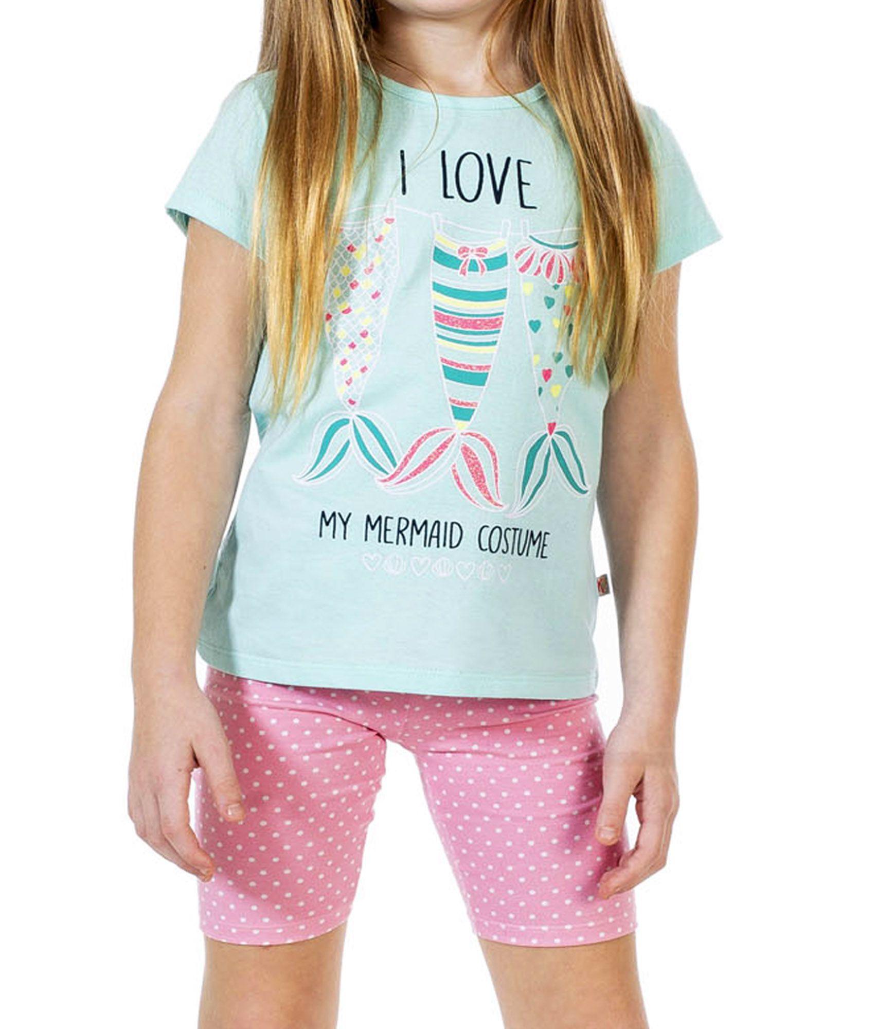 Conjunto I love Menina Infantil