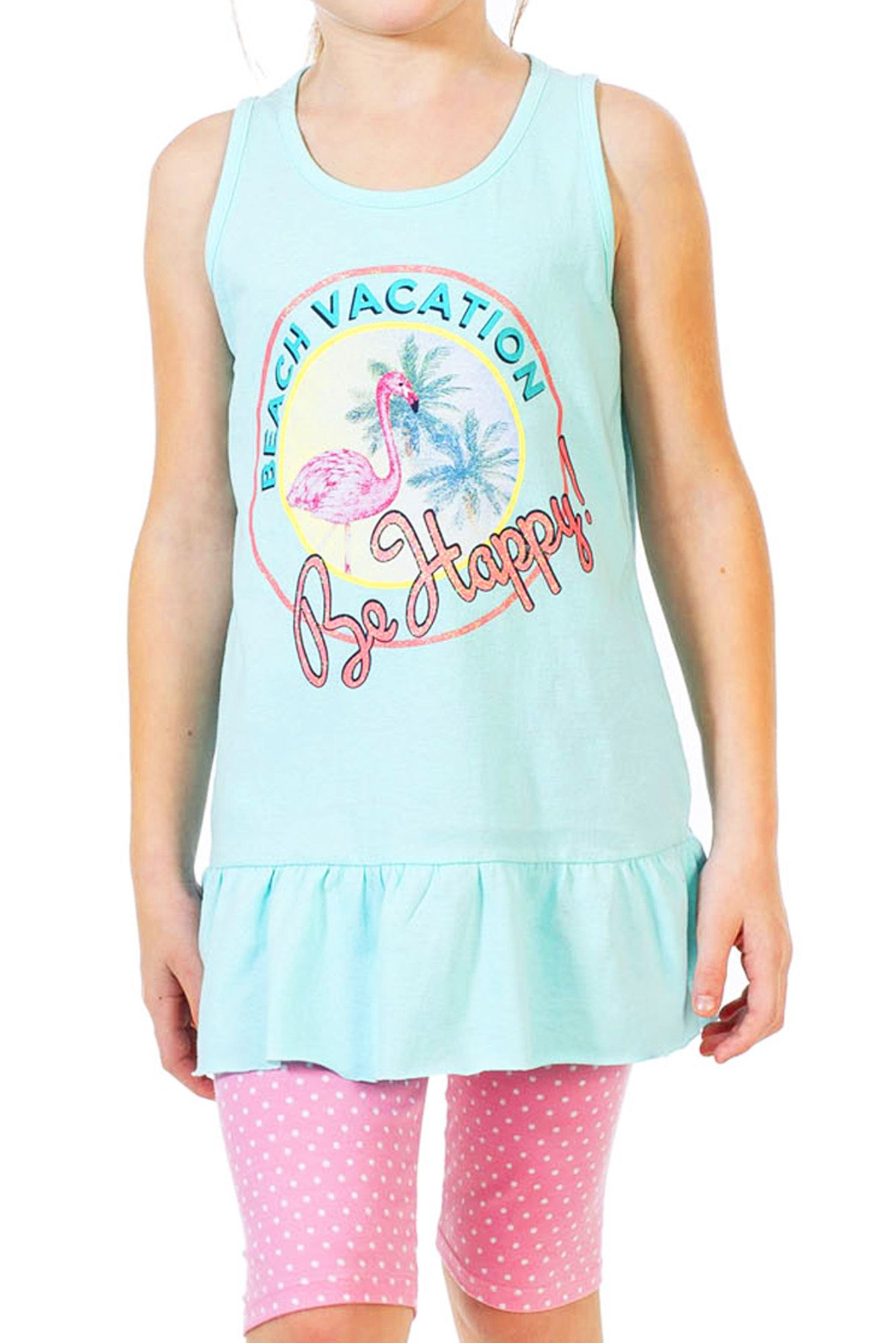 Conjunto Infantil Beach Vacation Verde