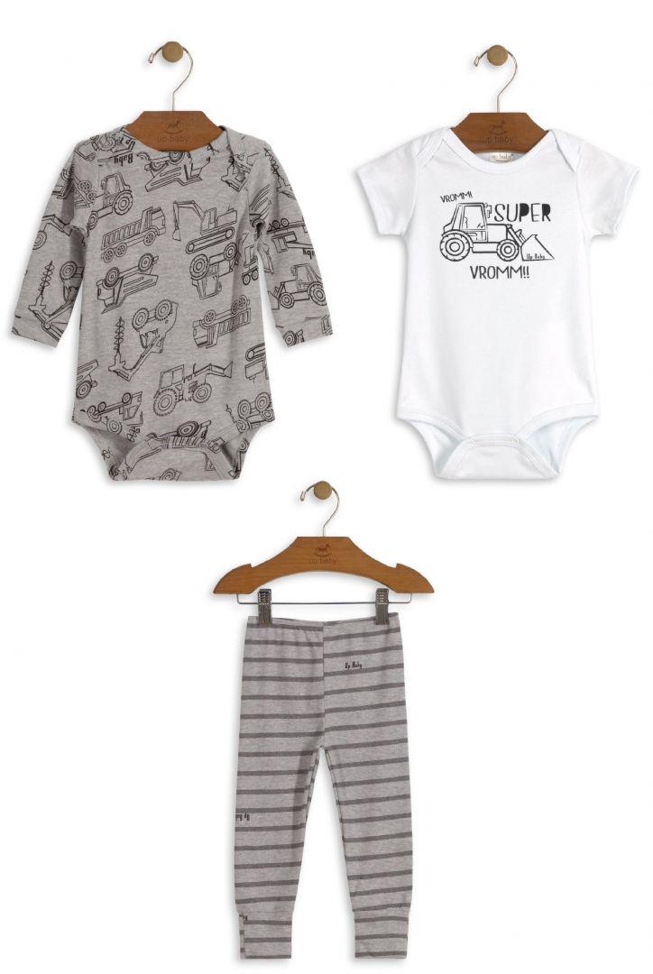 Conjunto Infantil Body Bebê Menino Up Baby
