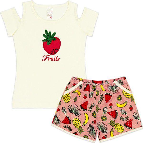 Conjunto Infantil Fruits Analê