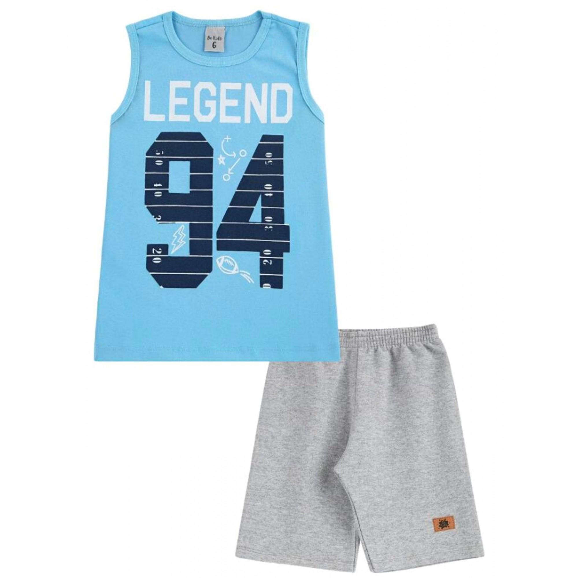 Conjunto Legend Be Kids Menino