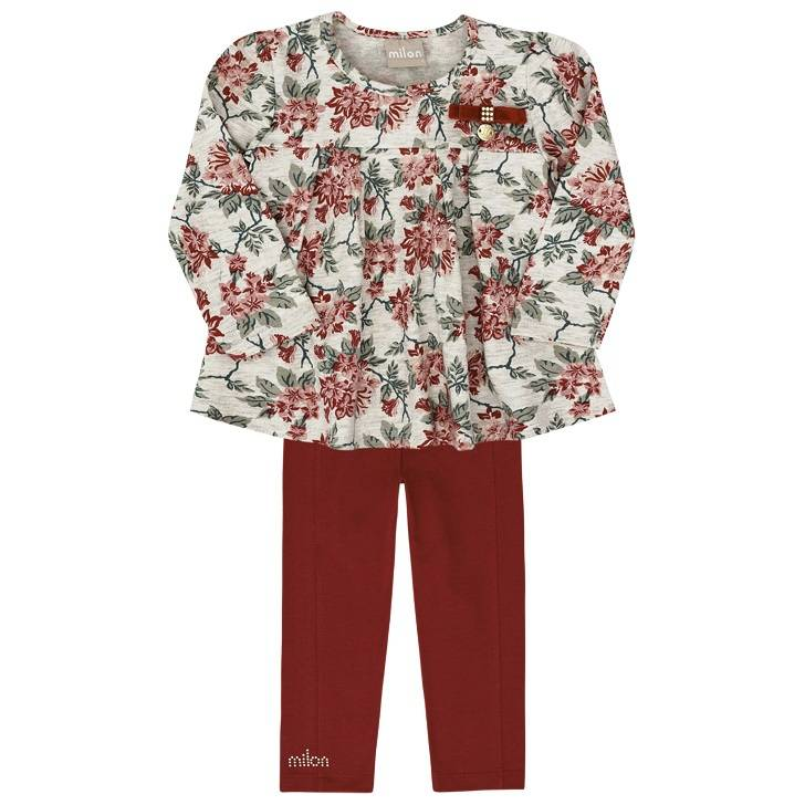 Conjunto Milon Floral