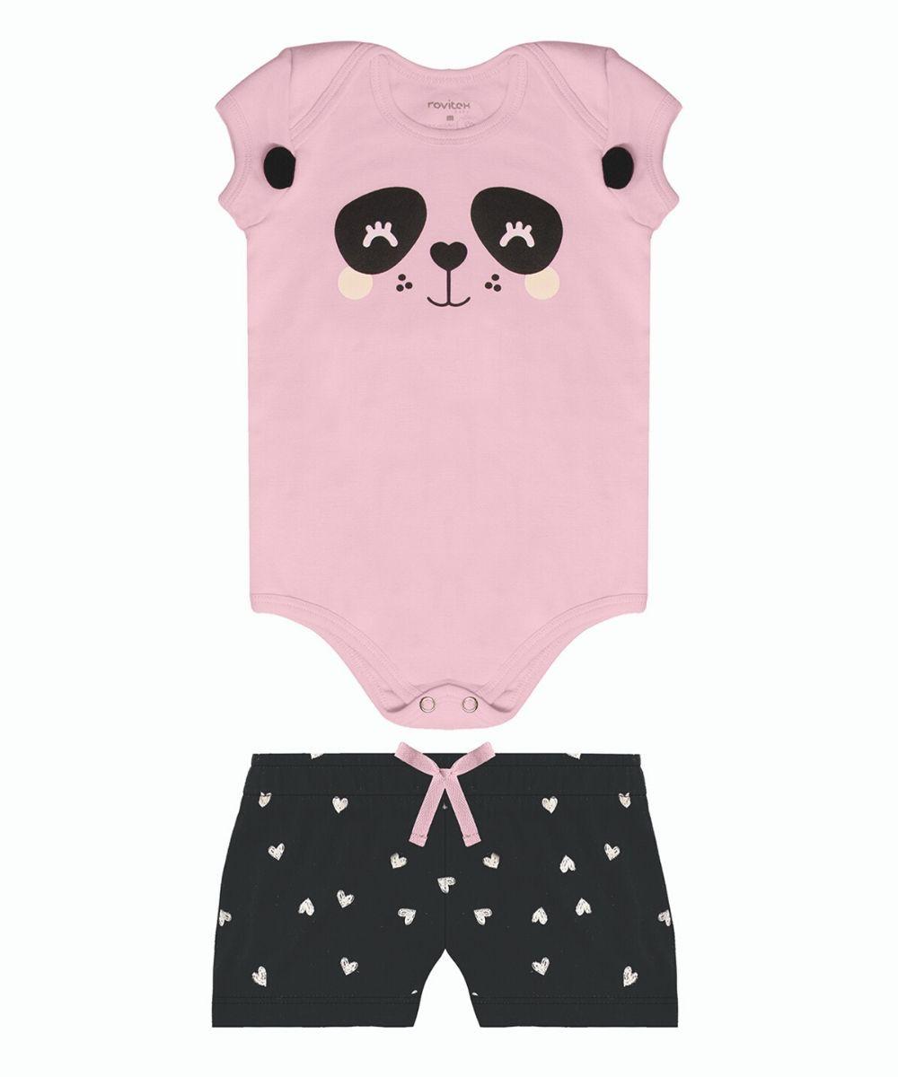 Conjunto Panda Rovitex Baby
