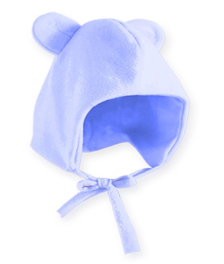 Gorro Orelhinha Azul Pingo Lelê Bebê